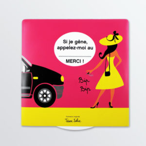 Disque de stationnement à message BIP-0
