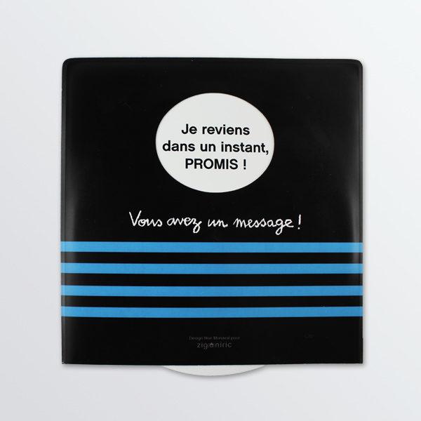 Disque de stationnement à message Mer-0