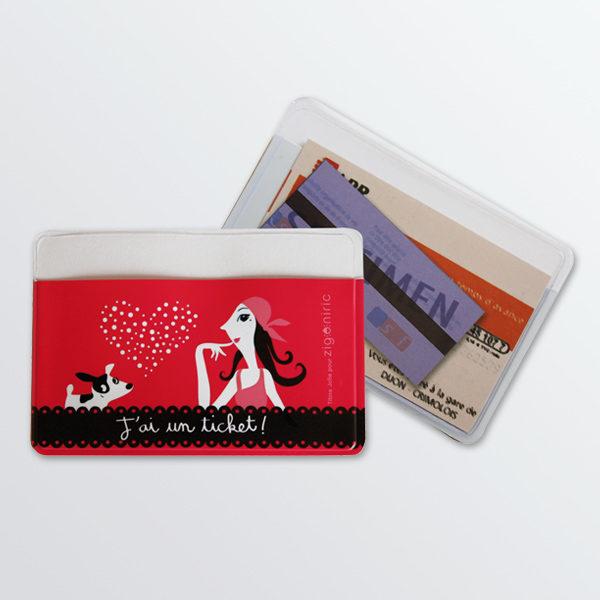Porte-tickets Lady Dog-0