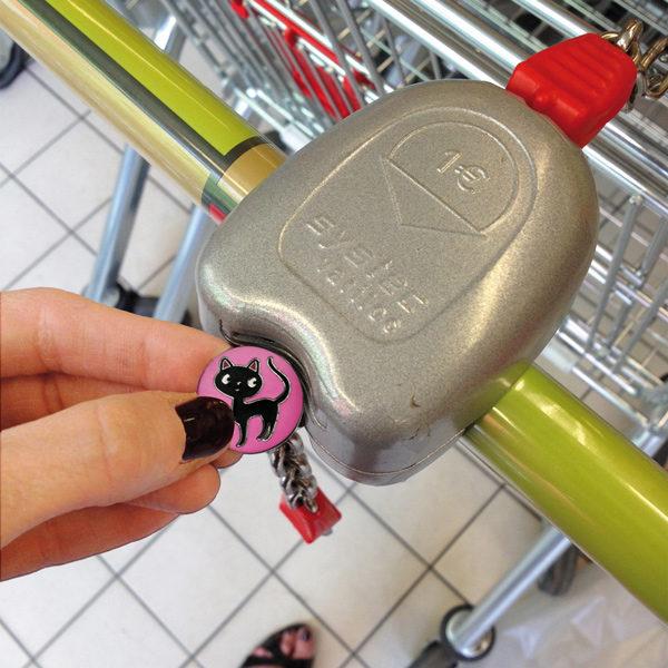 Porte-clés jeton Petite Minette-716