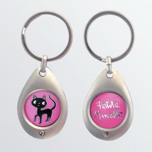 Porte-clés jeton Petite Minette-0
