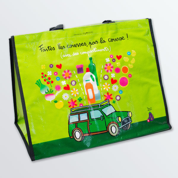 Sac de courses compartimenté Happy Car-0