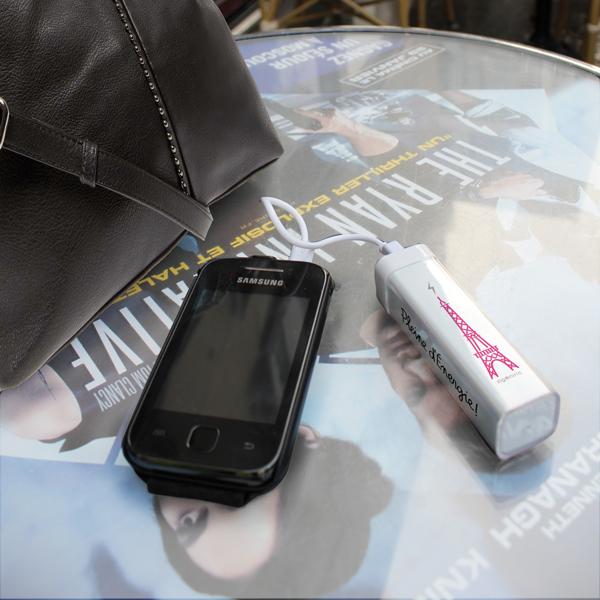 Chargeur - Batterie de Secours Rechargeable Tour Eiffel - 2600mAh-783