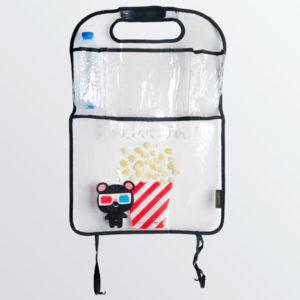 Protège dossier à poches Popcorn -0