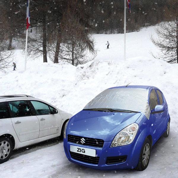 Bâche anti-givre Homme des neiges-200