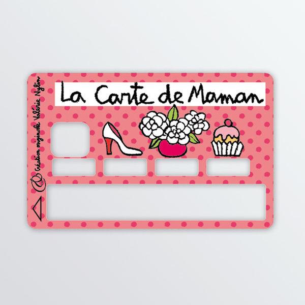 Adhésif de carte bancaire La carte de maman-620