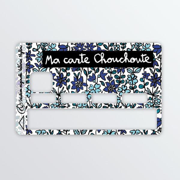 Adhésif de carte bancaires Chouchoute-616