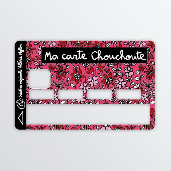 Adhésif de carte bancaires Chouchoute-0