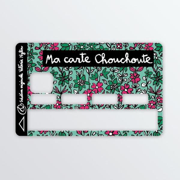 Adhésif de carte bancaires Chouchoute-604