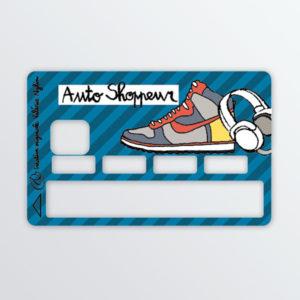 Adhésif de carte bancaire Auto shoppeur-0