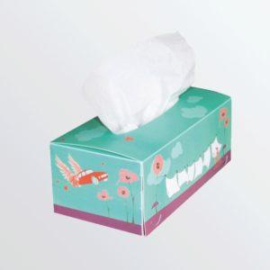 Boîte à mouchoirs pvc